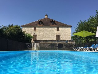 Fabulous Stone Farmhouse With Large Private Pool