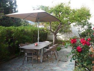 Appartement dans maison  avec terrasse et jardin