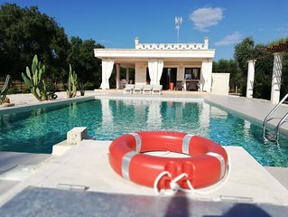 Villa with PRIVATE Pool to fully enjoy the authentic mediterranean atmosphere