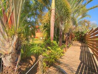 Appartement de charme dans villa proche de la plage