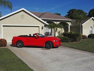 Luxury 3 Bed / 2.5 Bath Villa In Rotonda West, Gulf Coast, South West Florida