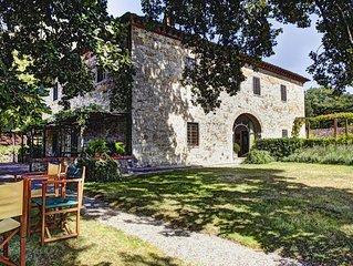 Villa With Private Pool In The Heart Of The Chianti Region