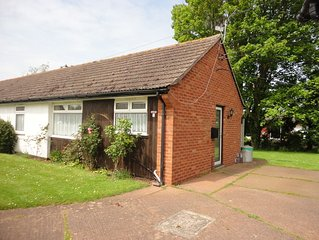 Comfortable Semi-detached Bungalow In Peaceful Location. Pets Welcome
