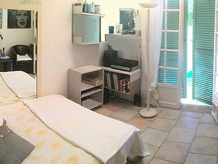 10 Min walking from Pampelonne Beach - nice provencal House in private Residence