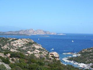 2020!!! Villino C. SMERALDA Baia Sardinia vista Arcipelago Maddalen