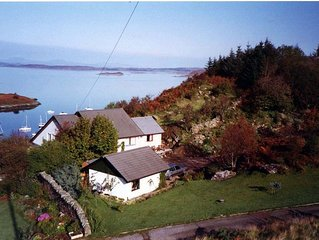 A beautiful family home with exceptional views to the Islands of Jura and Scarba