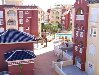 Gorgeous 2-bed penthouse apartment with sea views, FREE Wi-Fi and English TV