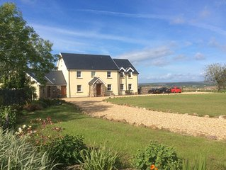 4* Self Contained Annex with stunning views over the Gower countryside