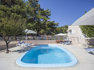 Butterfly valley, Comfortable 3 bed villa, private pool, wifi + internet TV