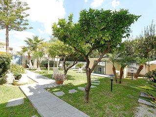 Casa Vacanza MARTE in villa. Relax e massimo confort a due passi dalle spiagge