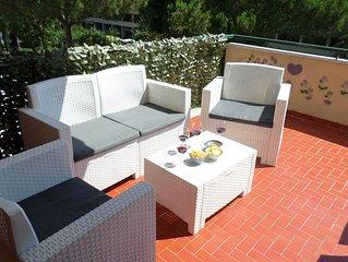 Ge.P.A's  Central Apart. in Sorrentofamiglie,relax con terrazzo FreehighspeedWI-