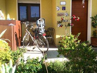 Cesenatico zona residenziale appartamento con giardino per famiglie