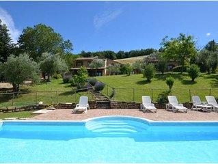 Charming Villa in Marche, private pool and fantastic landscape