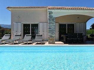 Villa Katia heated swimming pool out season -stay from Sunday to Sunday