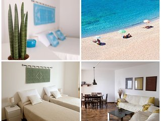 A 70 metri dalla spiaggia appartamento con giardino ideale  2-6 persone