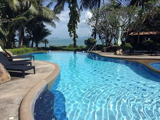 Butterfly Beach Villa in Traditional Thai Style only 20 steps from the beach