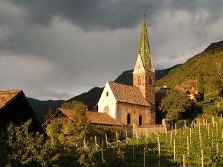 Weingut Messnerhof, liebevoll eingerichtet, am Stadtrand von Bozen