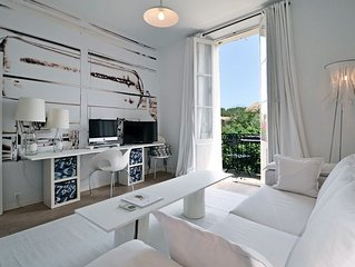 Luxury Design Appartement in kleinem Haus in bester Lage von St. Tropez