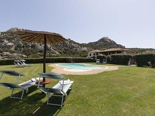 Ferienwohnung in landlich gelegener Villa