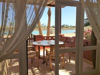 Ferienhaus in El Gouna - West Golf - direkt an der Lagune und traumhaften Blick