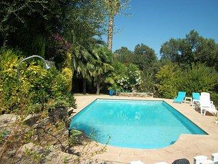 villa 300m2,  ,vue panoramique sur la  mer ,piscine,jardin etage 1800m2 charme