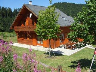 Chalet 'tradition montagne' 4 étoiles; 12 à 15 pers/ panorama, Villard de Lans