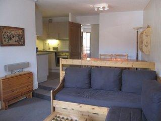 Appartement skis aux pieds - 4 à 6 couchages - Domaine La Tania Courchevel