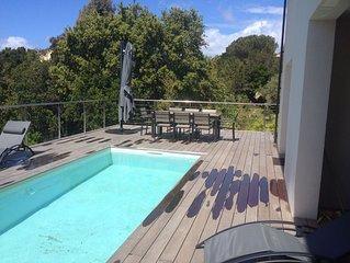 Villa neuve avec piscine privée à 100 m de la plage - Isolella