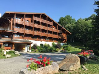 ⛷ Megeve - Appartement 2 ch - Proche Centre &  Ski - Wifi + Netflix - Balcon