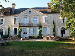 maison 12 personnes, Saint Sozy, vallée de la dordogne