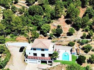 MAGNIFIQUE VILLA CONTEMPORAINE AVEC PISCINE PRIVÉE COTE D'AZUR (French Riviera)