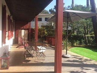 Appartement avec jardin à Arcachon au calme à l'abri des pins