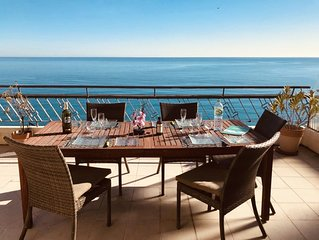 Belle Penthouse Moderne Grande Terrasse  Premier range Promenade Des Anglais