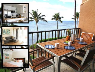Oceanfront! New Split AC! Centrally Located Maalaea Banyans Condo