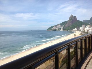 Spectacular Beach Front Apartment With The Best Location On Ipanema Beach