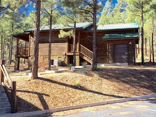 Hillside Hideaway Cabin with a Relaxing View of the Pines! Near Hiking & Lakes!