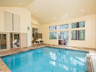 Heavenly, Air-Conditioned, Indoor Pool, Home Theater, Hot Tub and more