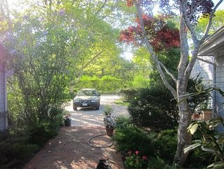 Private, Charming Beach House on 1.5 Acres of Land with Pool.