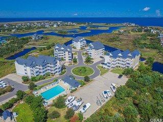 OBX Penthouse Suite: VIEWS, VAULTED CEILINGS,  LUXURY AWAITS!