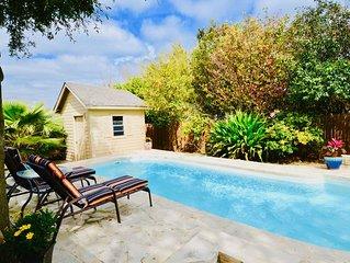Closest Neighborhood To Sea World! Private Pool & Backyard Oasis! Prime location