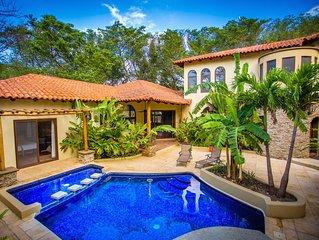 Majestic Coastal Palace w/ Private Pool and Concierge Service!