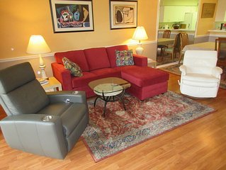 Summer Special $1295/month May-Oct. 3 month minimum. Clean & Comfy.