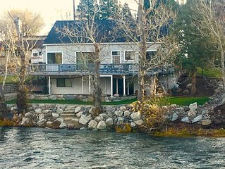 Secluded On The Truckee River Minutes From Downtown Reno And Nearby Ski Resorts