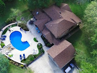 Book Business Travel Fall or Family Fun at Pool for Fun in Summer Heat.