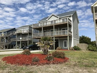 Great home with great ocean views and with private beach access!