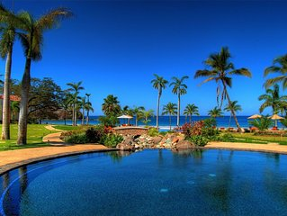 Spectacular 5-Star Beach Front Villa in Prestigious Palms Private residences