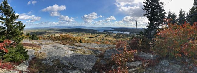 Top of Blue Hill in October! Great family hiking spot all year round.