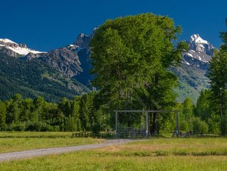 Branchwater Ranch is unrivaled for its beauty and location in Jackson Hole
