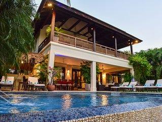 Beach Front Villa W/Pool, in Gated Community W/Tennis/Gym