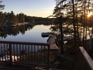 Book now for 2020!   Peaceful retreat on the Winnipeg River.